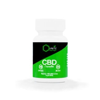 Pure CBD Oil Capsules 40mg
